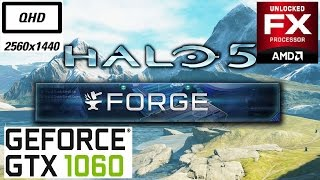 halo 5 forge gtx 1060 fx 6300 1440p ultra with fps monitoring