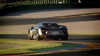 Короткий заезд на Porsche 918 Spider / Порше 918 Спайдер / тест-драйв / Андрей Трой
