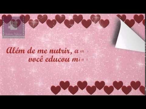 Vídeo Homenagem Dia Das Mães Frases Tiradas Do Livro Minha Mãe