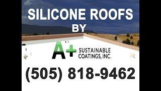 gaco silicone roof replacement coating albuquerque