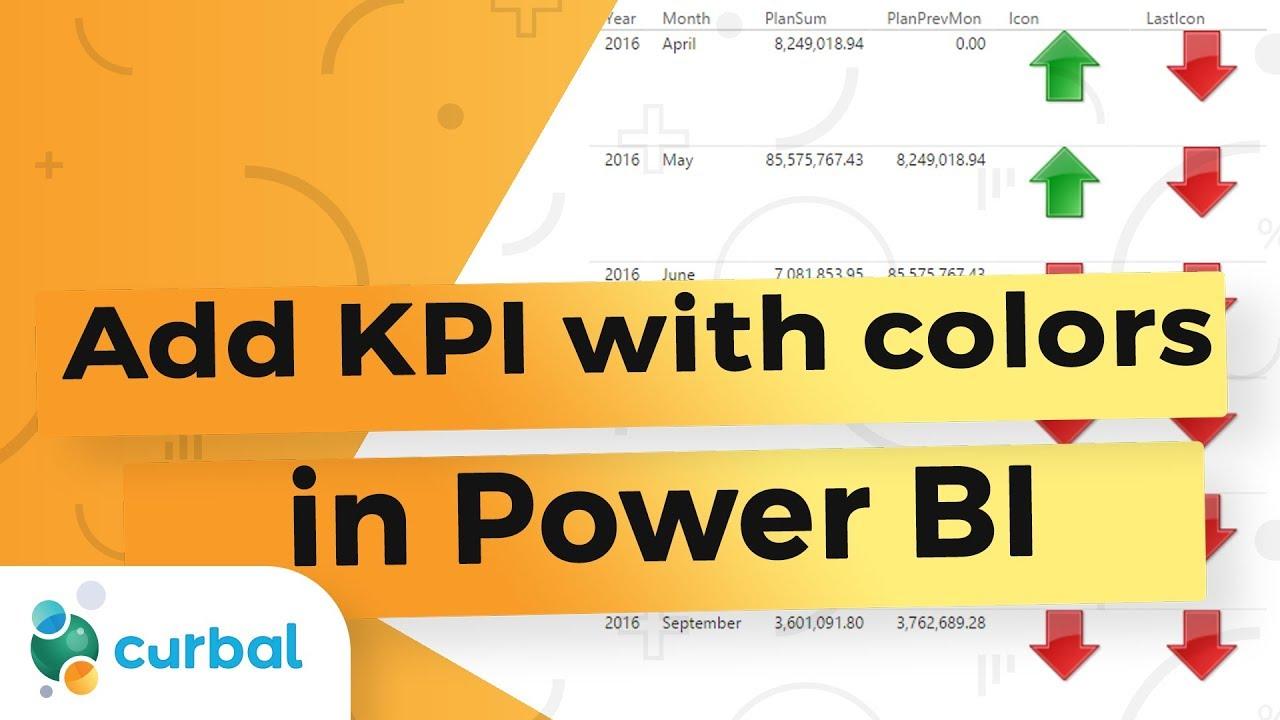 Power BI Tips & Tricks #12: Build your own KPI indicators in Power BI