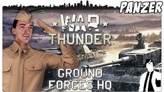 War Thunder Ground Forces - Nun auch zu Land | Ground Forces Gameplay [German]