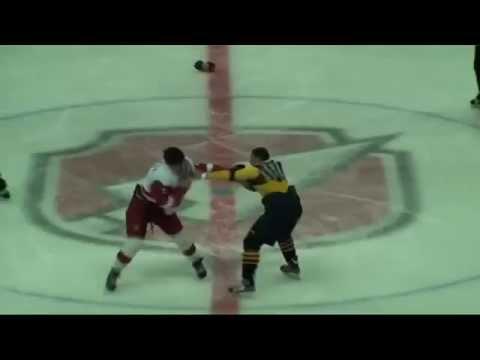 Драка: МХЛ: Андрей Белов (Атланты) vs Семен Курбатов (Русские Витязи)
