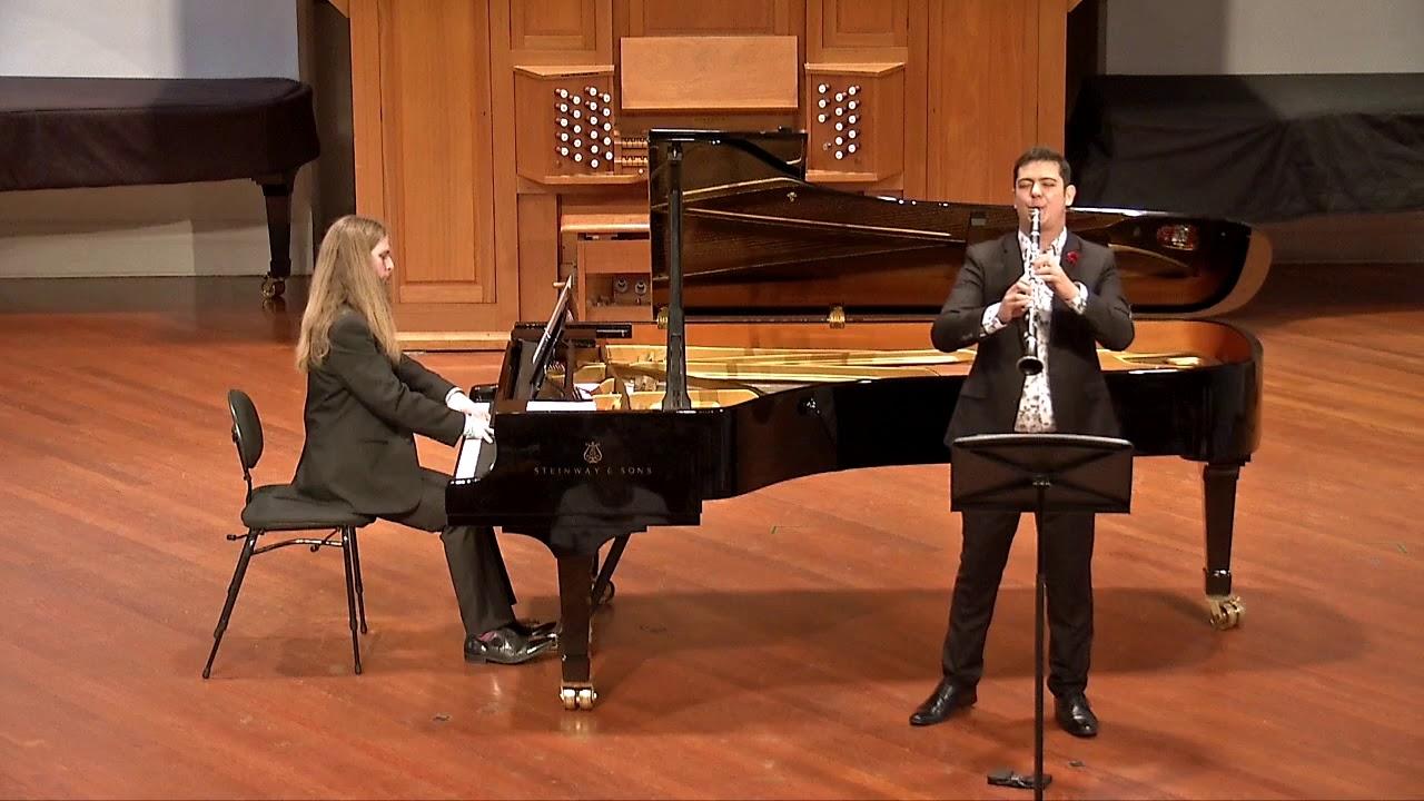 Johannes Brahms: Clarinet Sonata in F Minor, Op. 120 no. 1