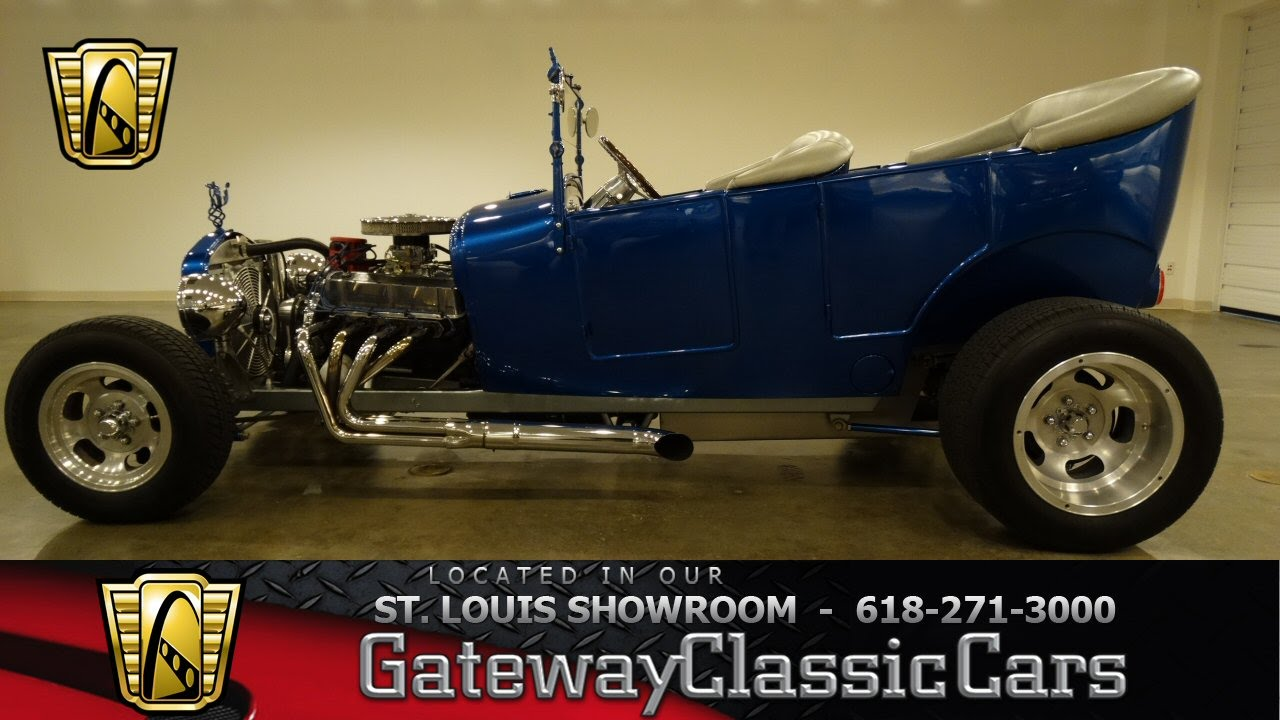 1927 Ford T Bucket Touring   Gateway Classic Cars St. Louis   #6537