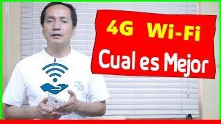 Redes 4G versus WiFi | Cual es Mejor para Navegar | Gadgets Fácil