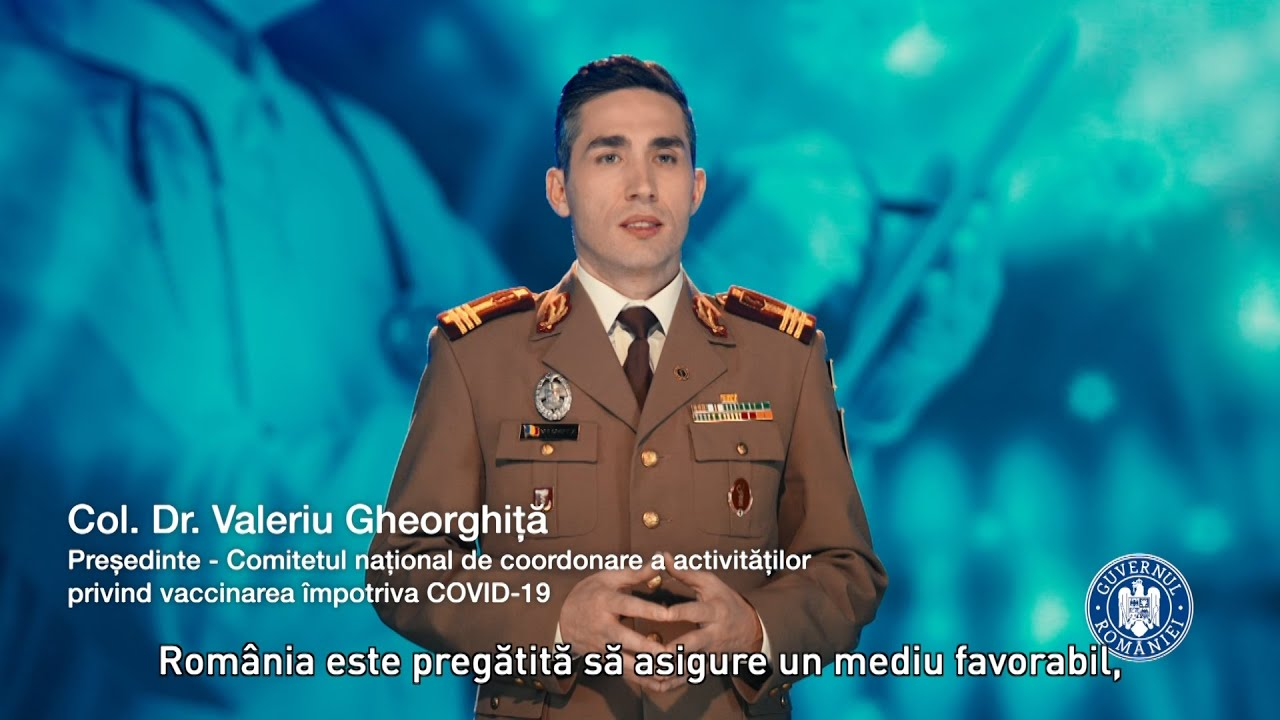 Campania de vaccinare împotriva COVID- 19 - Dr. Valeriu Gheorghiță - YouTube