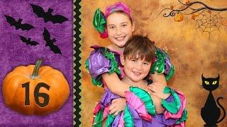 Halloween Countdown 16 - Latin Dancers Rosie and Declan