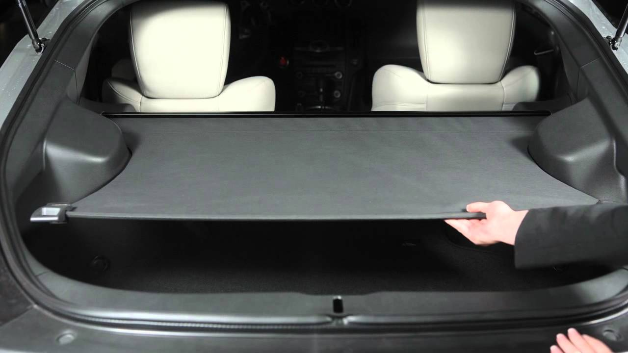 2016 NISSAN 370Z - Cargo Cover (if so equipped) - YouTube