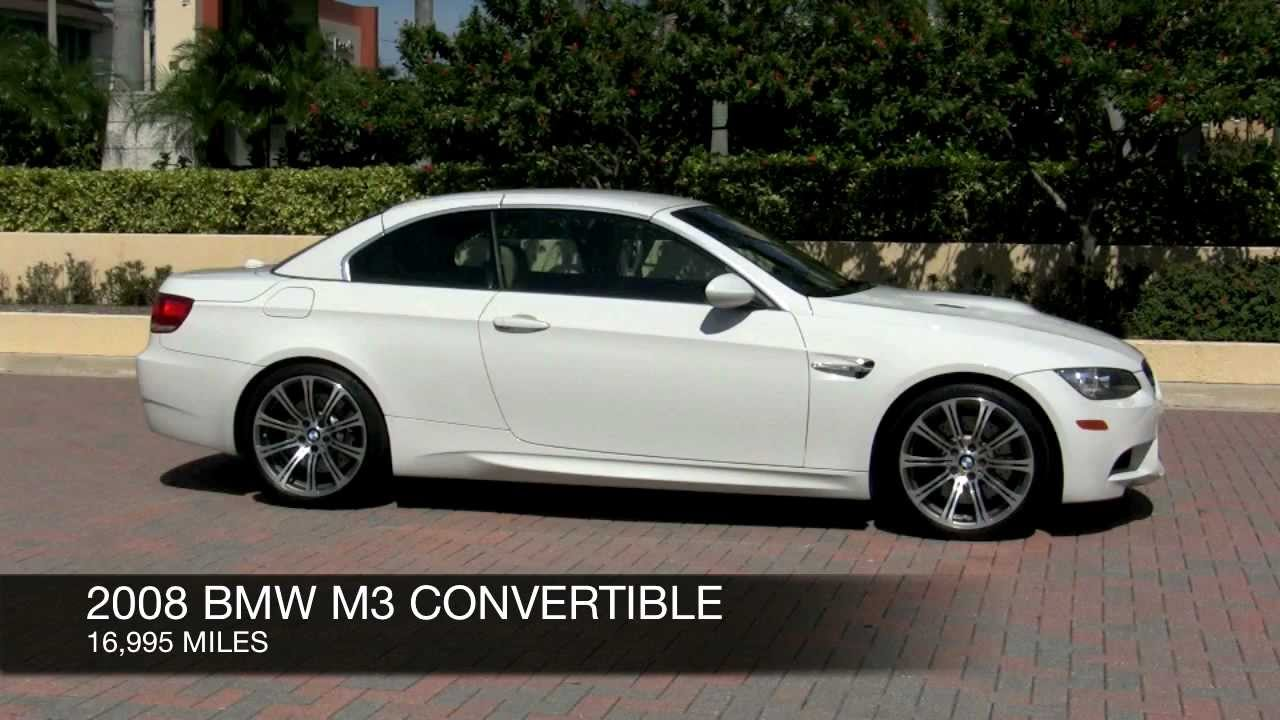 2008 Bmw M3 Alpine White Youtube