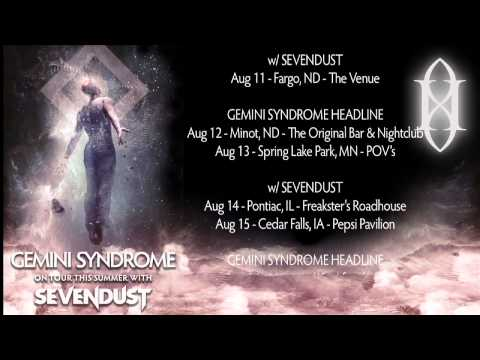 GEMINI SYNDROME - SUMMER CONVERSION DATES w/ SEVENDUST