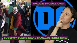 Joaquin Phoenix Joker Subway Scene REACTION