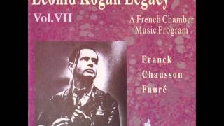 Leonid Kogan - Franck: Violin Sonata in A major, IV. Allegretto poco mosso