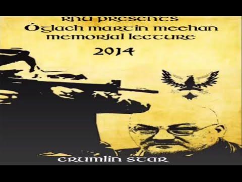 Óglach Martin Meehan lecture 2014