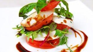 видео Классический рецепт итальянского салата Капрезе