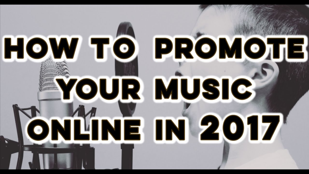 ways to promote your music
