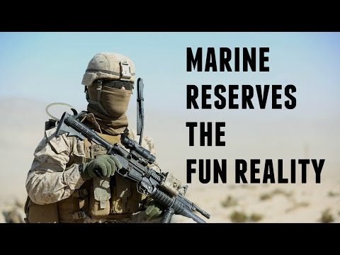 Marine Corps Reserve Life| The Fun Reality Unfiltered