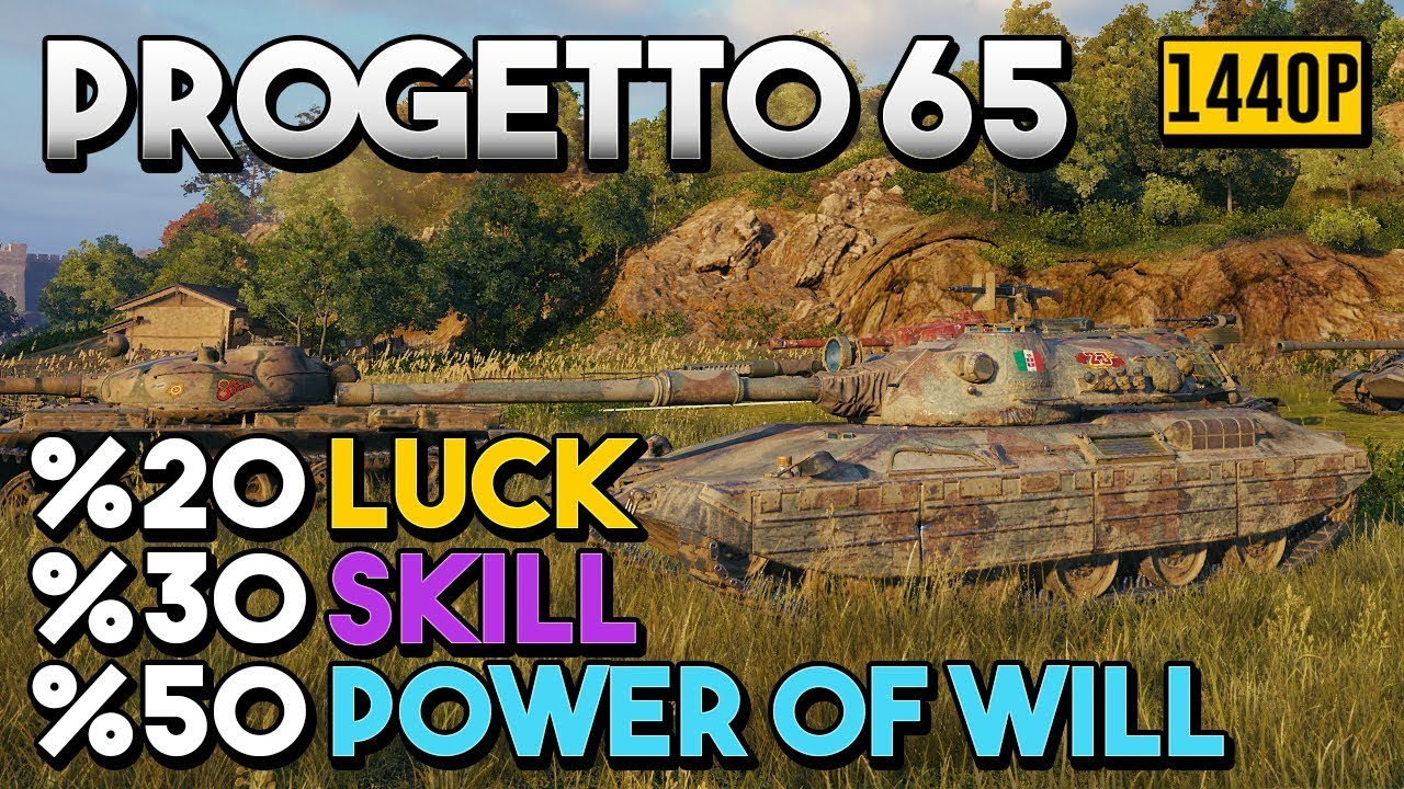 Progetto 65 - The Art of Carry #3 - World of Tanks