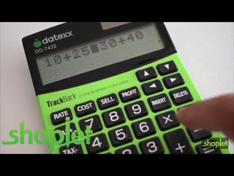 TrackBack Business Calculators 1