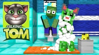 - Monster School Talking Tom Challenge Minecraft Animation