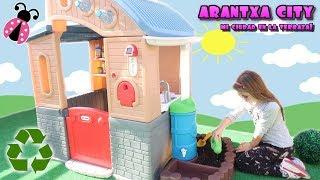 Mi casa ecológica en Arantxa City 🏡 Los juguetes de Arantxa thumbnail
