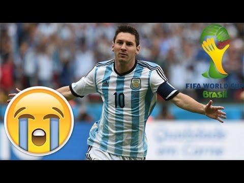EL DÍA QUE MESSI ME HIZO 😢 😭 | Argentina 3 - Nigeria 2| FIFA WORLD CUP BRASIL 2014 | Vlog