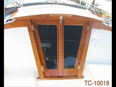 Hatch Board Replacement... Companionway Door Measurement - YouTube