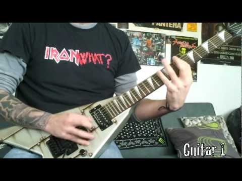 Iron Maiden Phantom Of The Opera Guitar Cover by Davish G. Alvarez