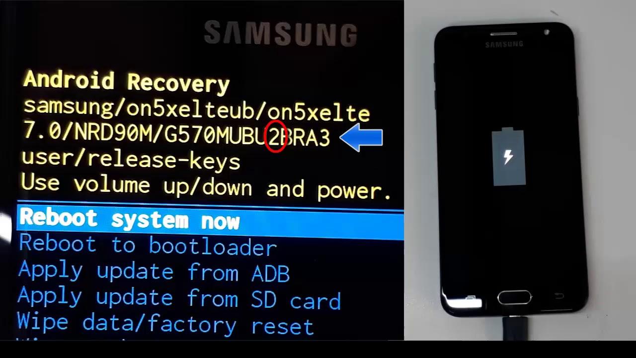 Problema Binary Samsung - (SW REV CHECK FAIL DEVICE)