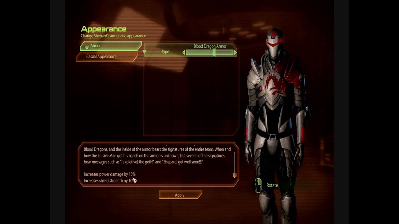 Mass Effect 2 All Weapons and Armor PC (HD) - YouTube