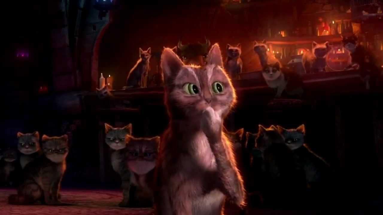 Картинки из мультика кот в сапогах кот