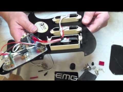 Vintage Kramer Japan With EMG Afterburner and SA SA 81 - YouTube
