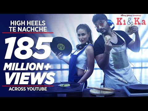Thumbnail: HIGH HEELS TE NACHCHE Video Song | KI & KA | Meet Bros ft. Jaz Dhami | Yo Yo Honey Singh | T-Series