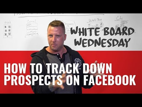 How To Track Down Prospects On Facebook