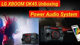 LG XBOOM OK45 All in One Mini System