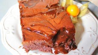 Шоколадный БРАУНИ с солёной карамелью