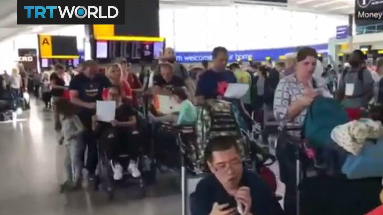 British Airways passengers stranded after IT failures