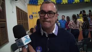 Secretário Anderson Victor de Jaguaribe declara apoio a candidatura de Nelinho a deputado estadual