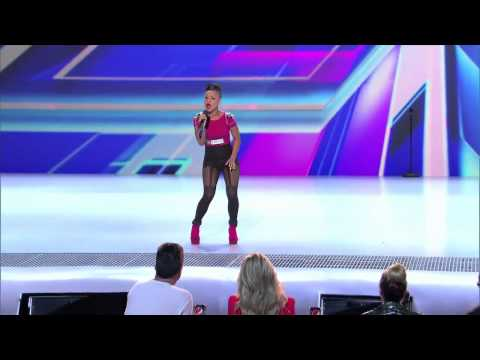 Paige Thomas - I'm Goin' Down X Factor 2012 USA