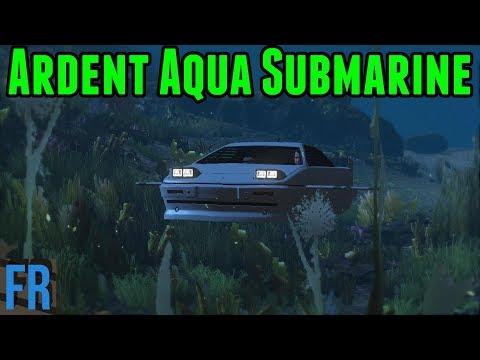 Gta 5 Mods - Ardent Aqua Submarine