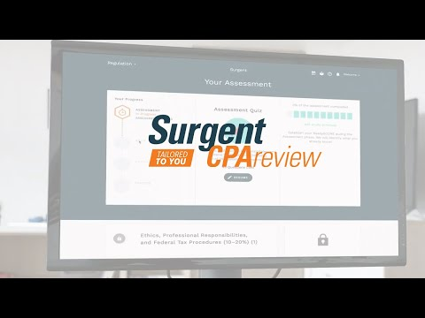 Introduction to Surgent CPA Review