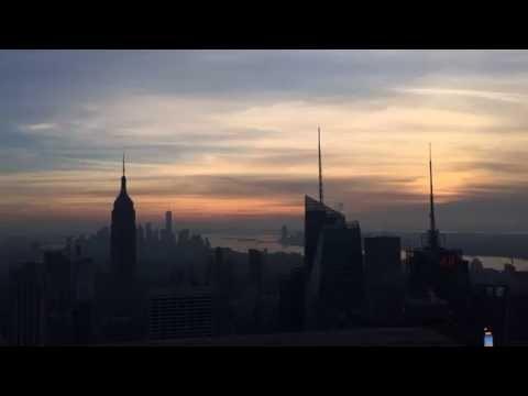 Sunset Timelapse of the New York Skyline