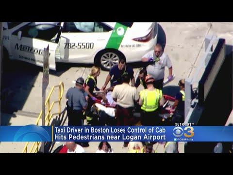 Police: Taxi Driver In Boston Lost Control Of Cab, No Terrorism Suspected