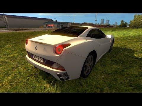 Ferrari California - Euro Truck Simulator 1.28 Car Mod ...