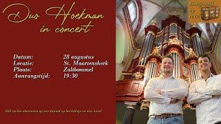 Duo Hoekman in concert