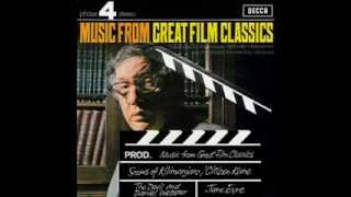Bernard Herrmann ~ Jane Eyre - Music From Great Film Classics