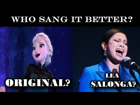 Lea Salonga VS Original Singers - Disney SONG Battle