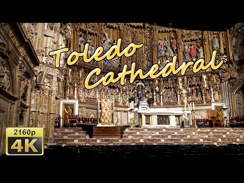 Toledo Cathedral - Spain 4K Travel Channel