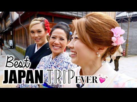 Kimonos, Gardens, & Gold! Our trip to Kanazawa!