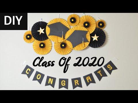 graduation-party-decorations-||-graduation-decorations-diy-||-decoration-ideas-at-home